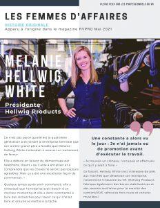Melanie Hellwig White story FR