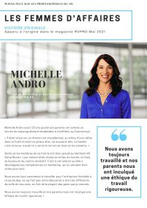 Michelle Andro story FR